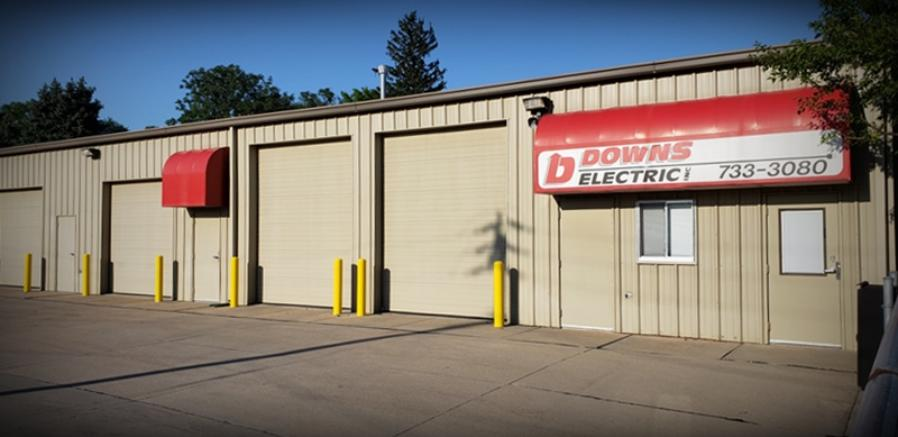 Downs Electric, Inc. 1808 Madison St Omaha, Nebraska 68107 402-733-3080